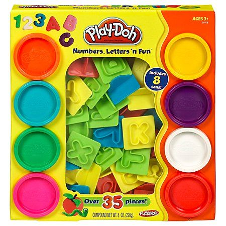 Play-Doh Numbers Letters N Fun $13.59 ( Alice loves Play-Doh, but we have no play-doh tools)