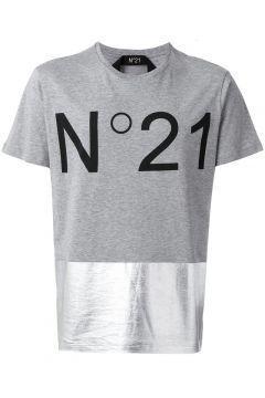 Nº21 Metallic Panel Logo T Shirt Https Modasto Com N21 Erkek Ust Giyim T Shirt Br62427ct88 Giyim