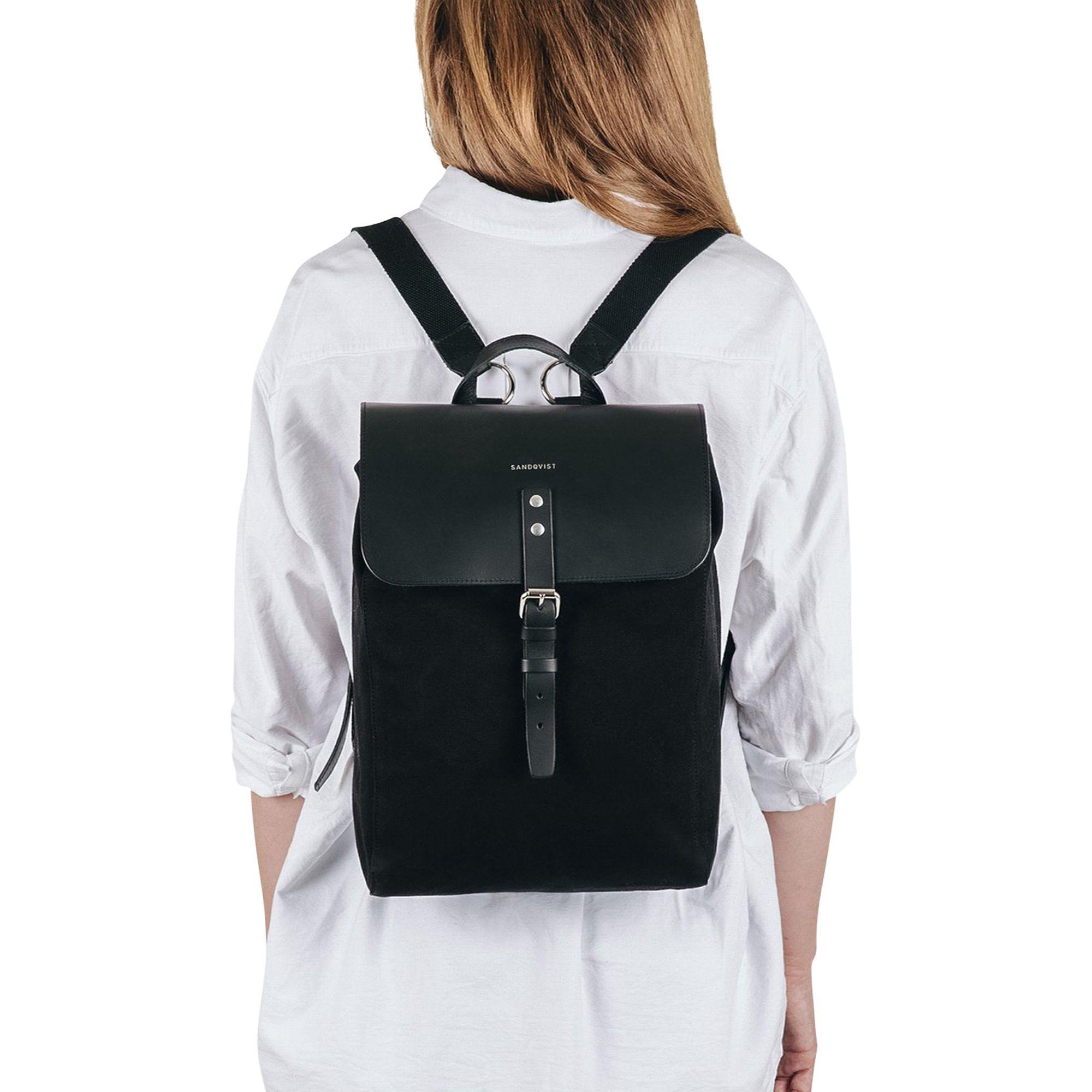 Black rucksack Vegan backpack Best selling item Bordeaux rucksack Large backpack Faux leather backpack Bordeaux backpack Black backpack