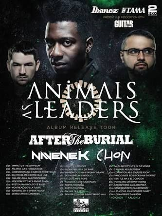 Animals As Leaders Tosin Abasi Album Releases Music Is Life