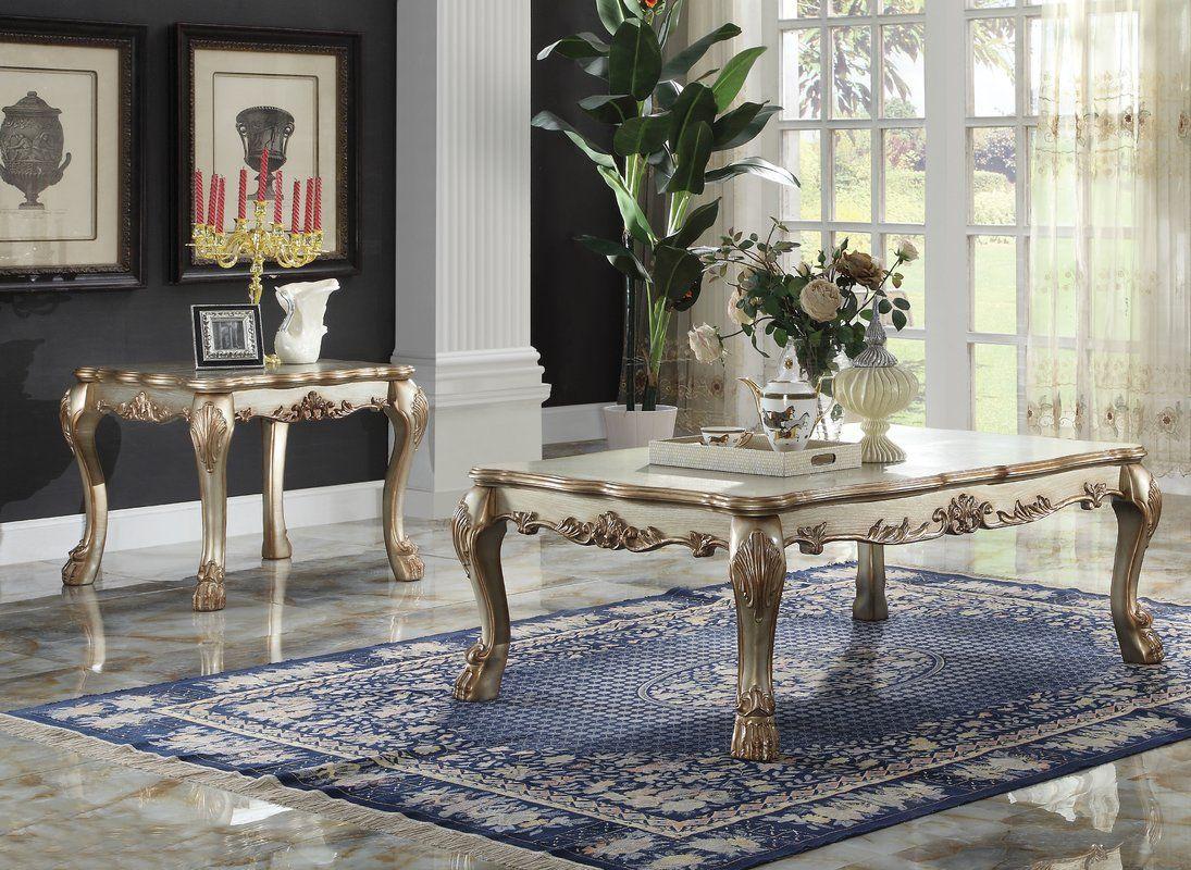 Magnificent Welliver 2 Piece Coffee Table Set Acme Furniture Machost Co Dining Chair Design Ideas Machostcouk
