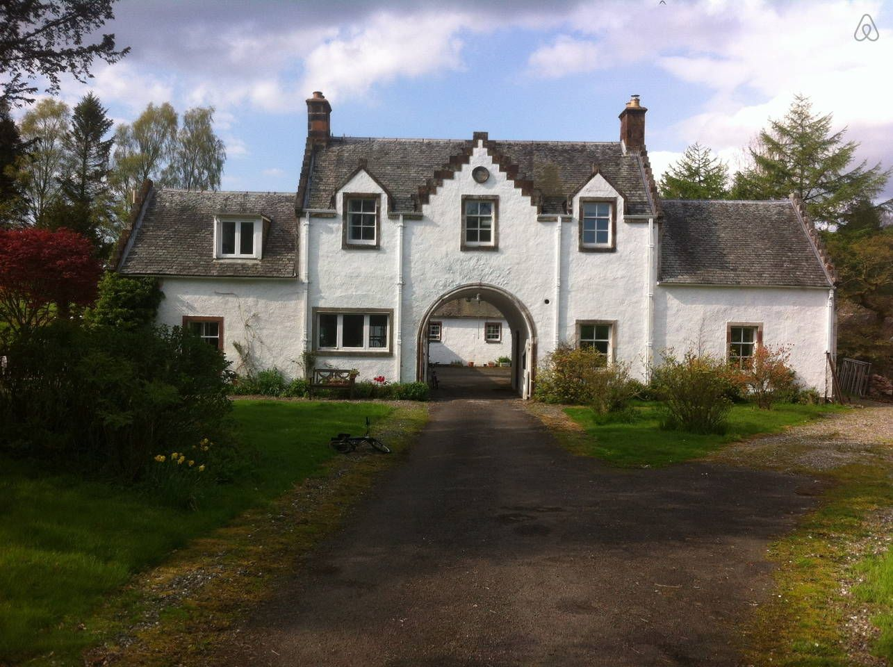 Stupendous A Picturesque Cottage In The Scots Baronial Style House Download Free Architecture Designs Estepponolmadebymaigaardcom