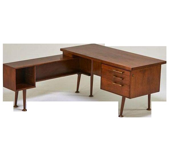 1950s Leopold L Shaped Desk Modern L Shaped Desk Mid Century Modern Furniture L Shaped Desk