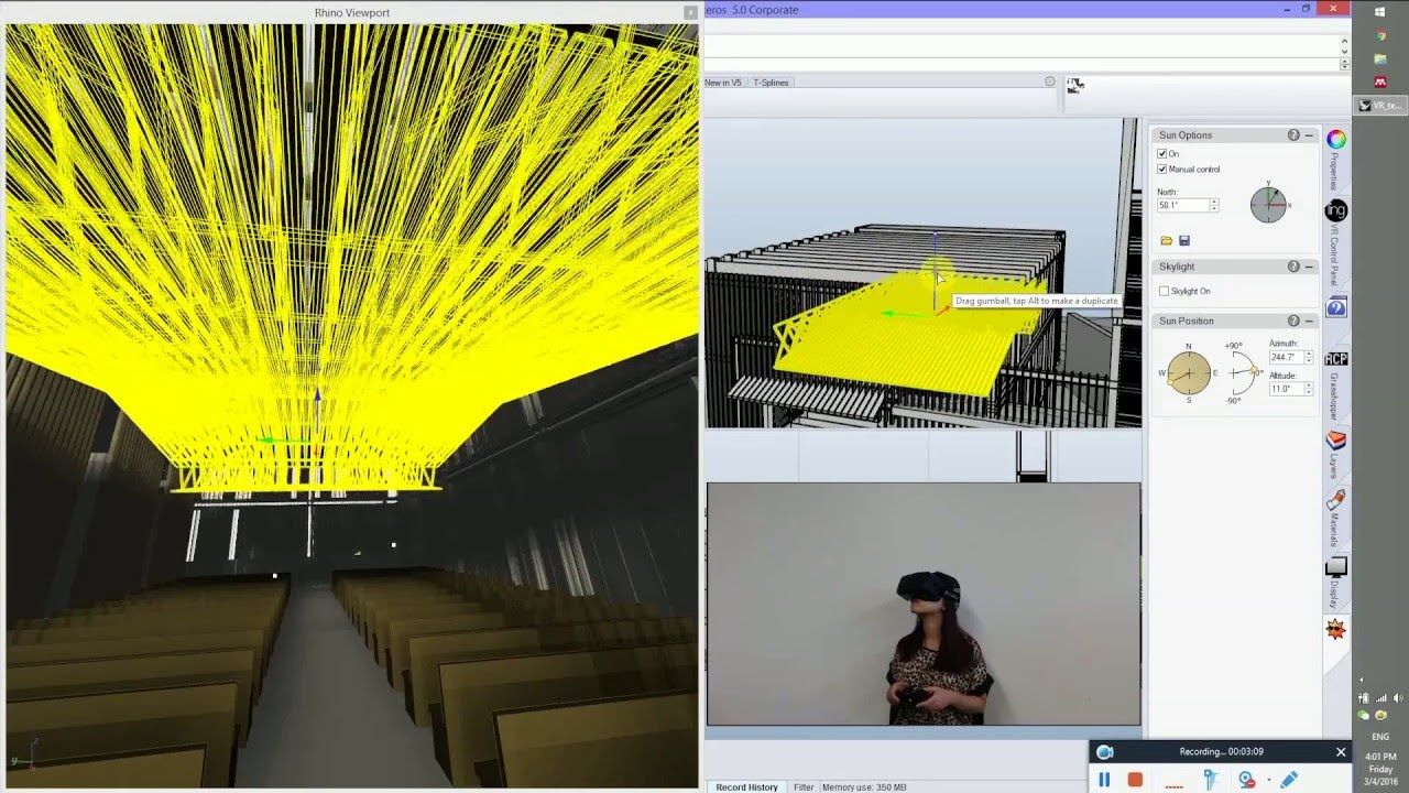 3D Program + VR