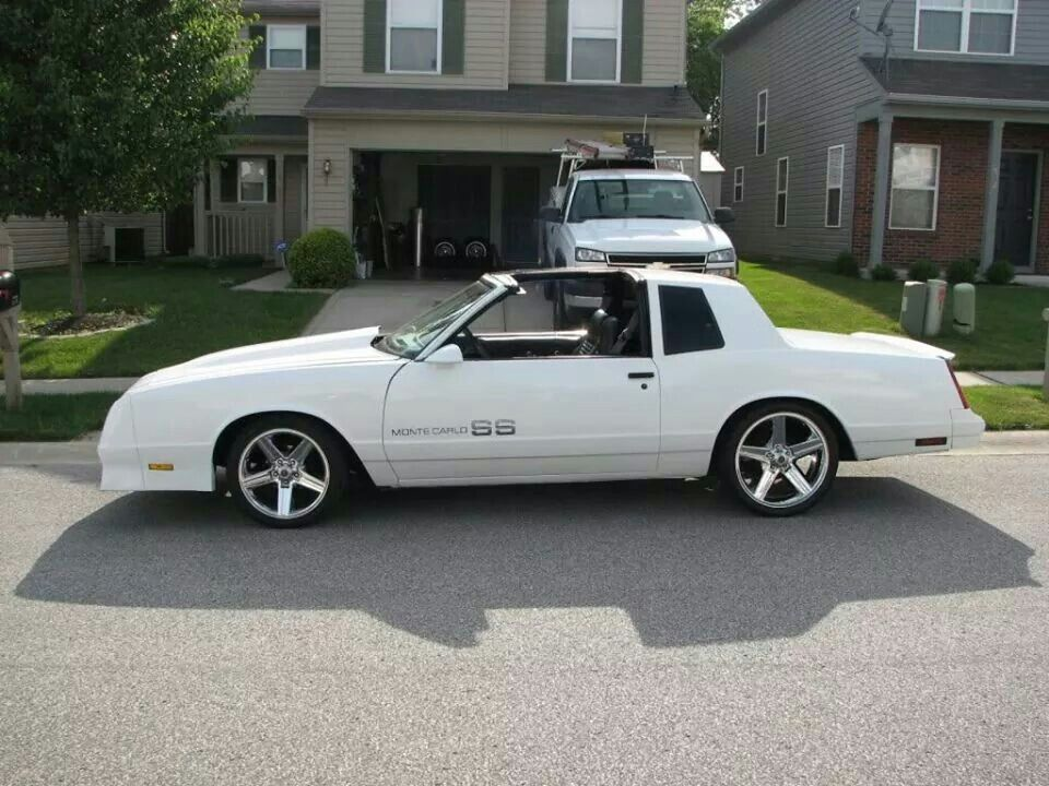 Ss Monte Carlo >> 1984 Chevy Monte Carlo Ss Maintenance Restoration Of Old Vintage