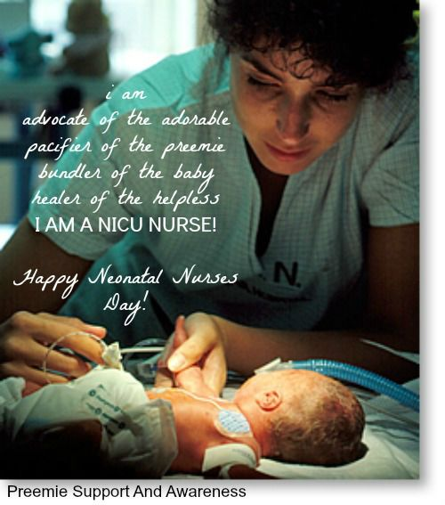HAPPY NICU NURSES DAY! | OneCraftyPreemieMom | Pinterest | To be ...