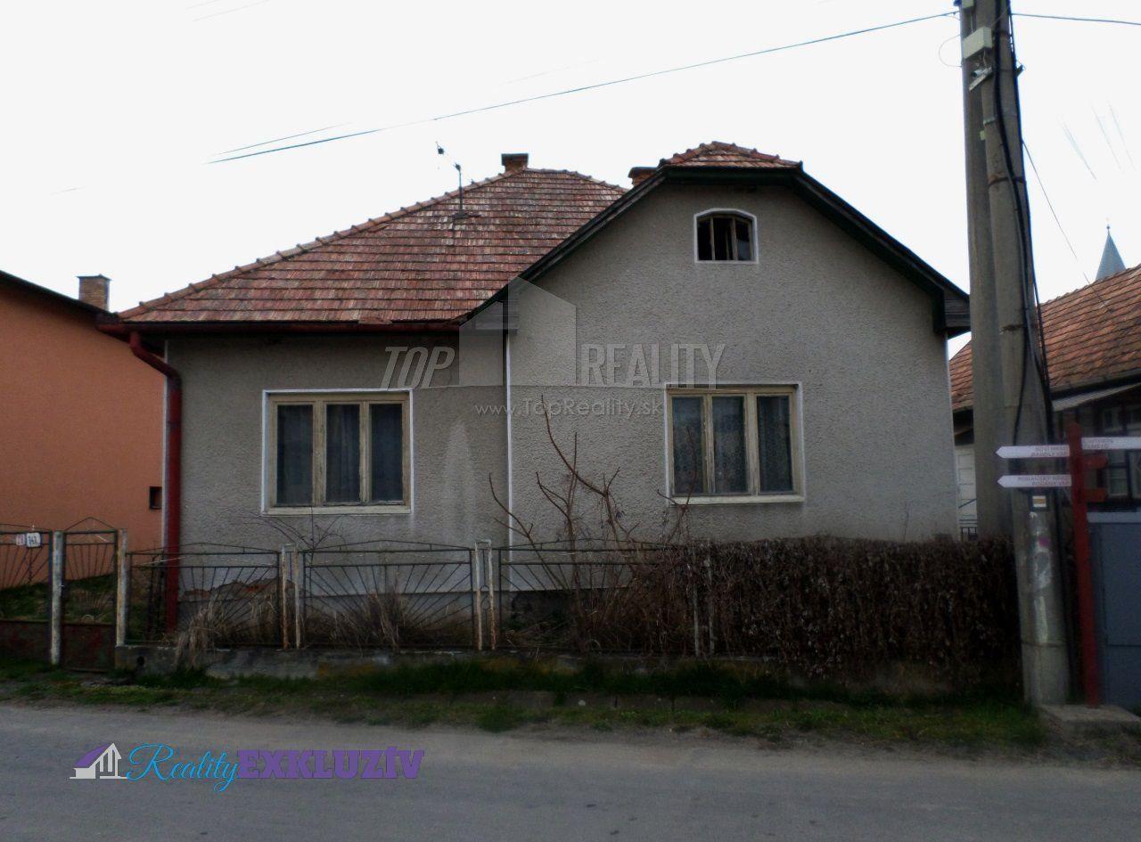 Fotka #1: Rodinný dom na predaj - Tu a tam opraviť a máte fajný dom!