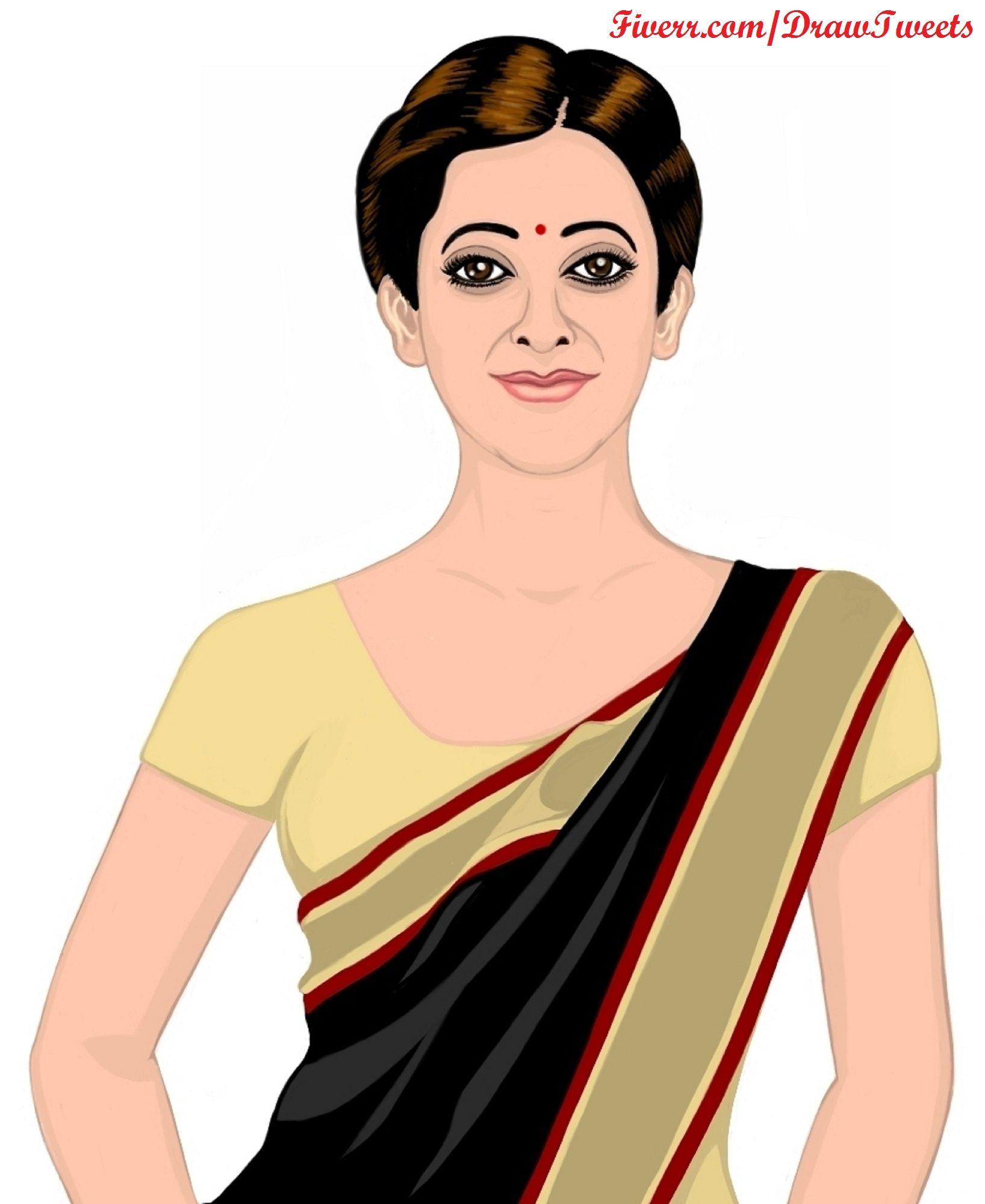Beautiful Indian Model Wearing a Black Saree Visit us