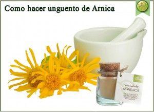 Como Hacer Ungüento de Arnica - Remedios Naturales