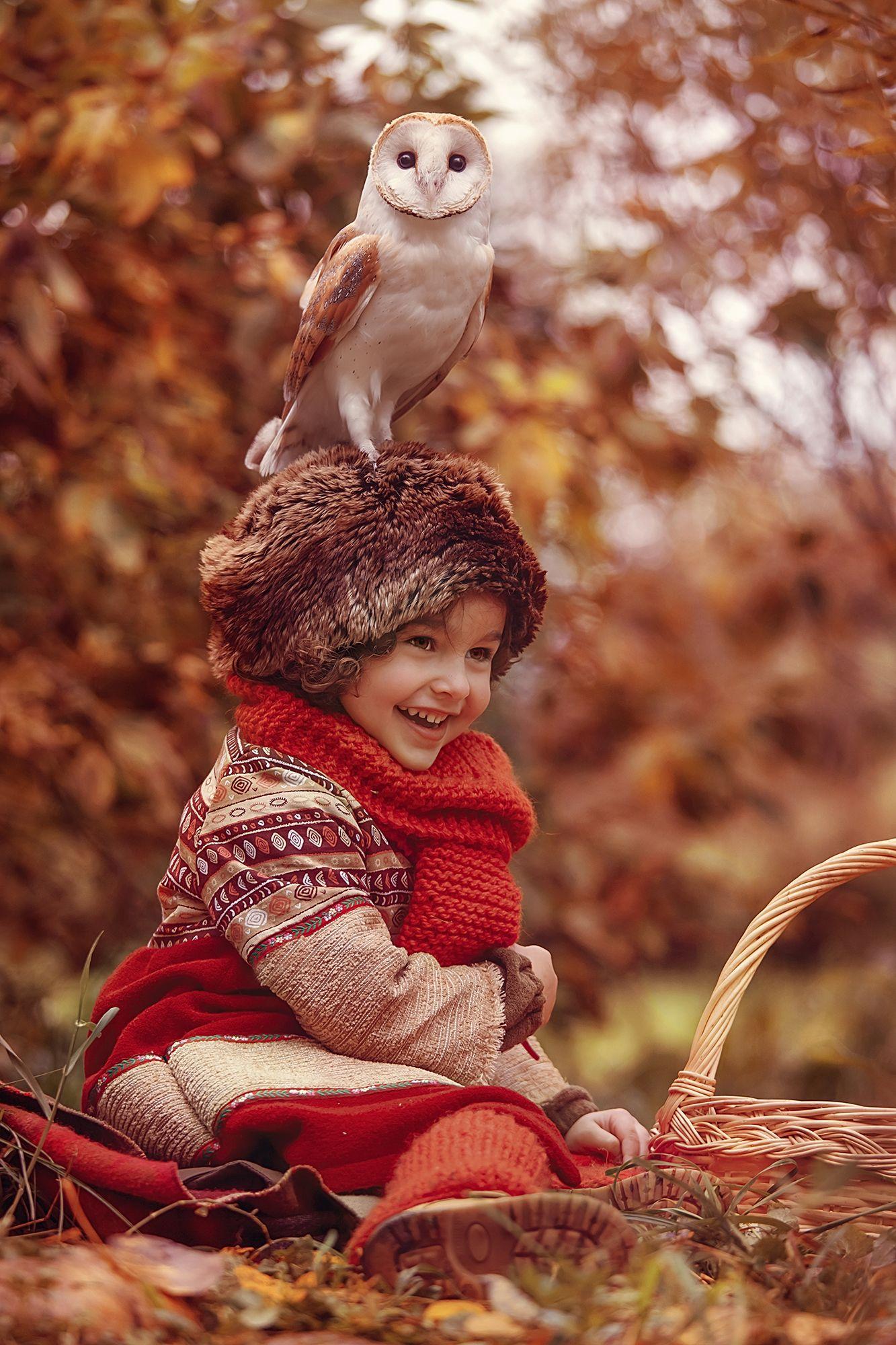 осень, детская фотосессия, детский фотограф, сказочная ...