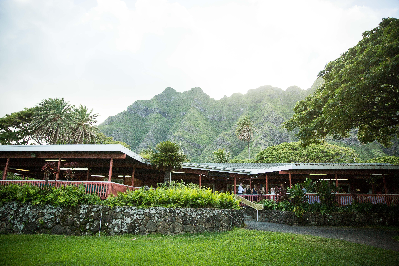 Wedding Reception Venue On Oahu Hawaii At Kualoa Ranch Open Air