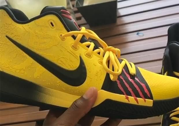 buy popular eb4f0 605d7 First look at the Kobe inspired Bruce Lee Kyrie 3