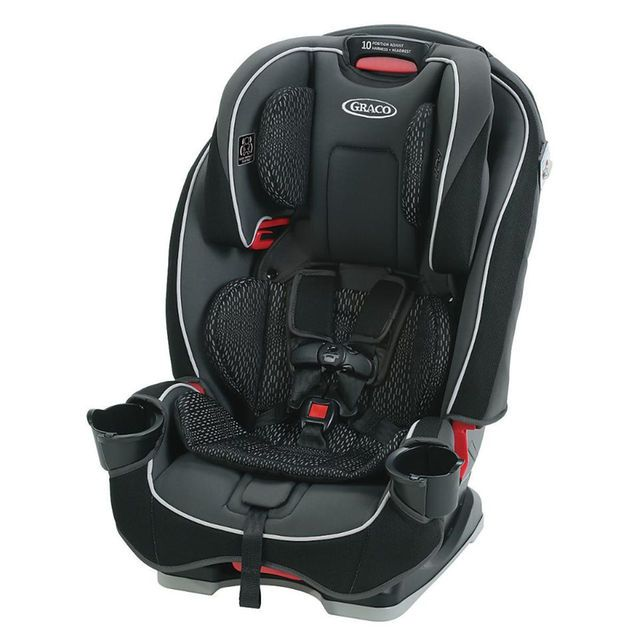 Graco SlimFit All-in-One Convertible Car Seat - Camelot | narrow car