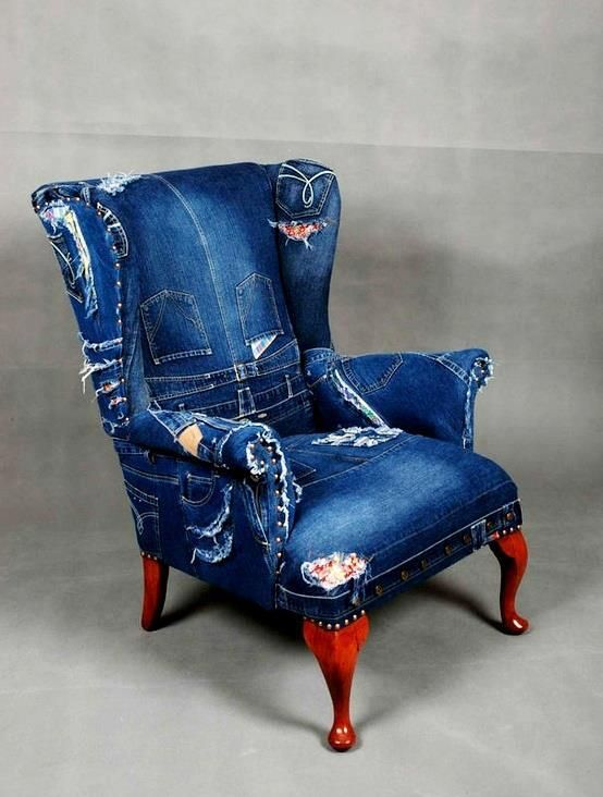 LOVE this Denim Chair got the jeans - got the chair, need ...