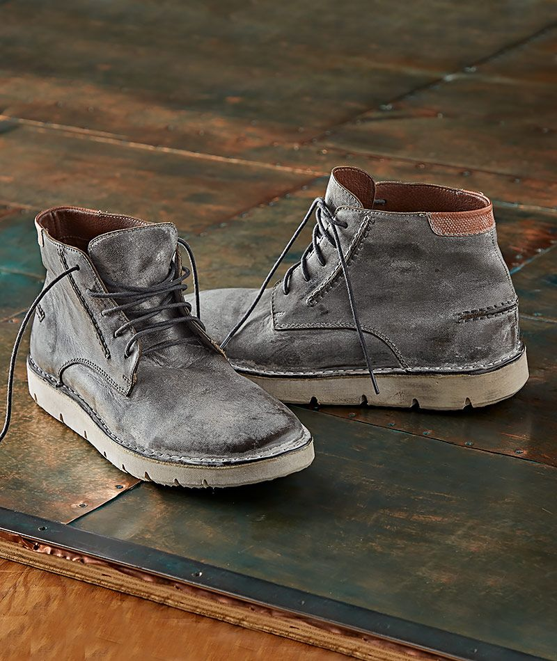 05483e1d0fd Men's Alkali Boot - From the smooth, pliant nubuck leather to the ...