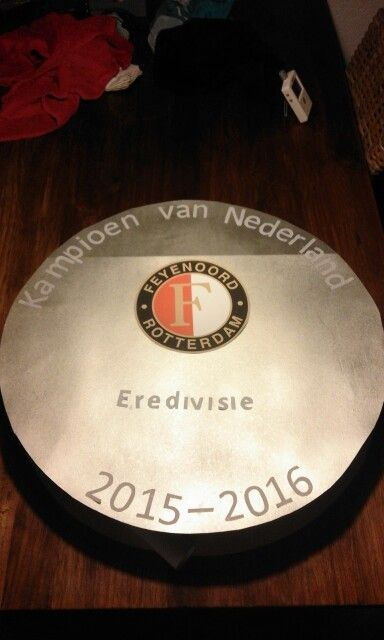 Feyenoord Surprise Sinterklaas Kampioensschaal Surprise
