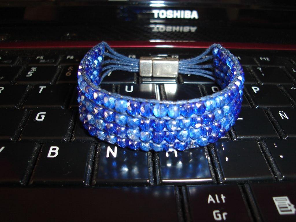 Date un capricho brazalete azul