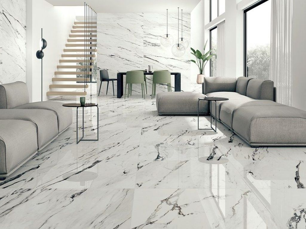 48 Wonderful Ceramic Floor Tiles Ideas For Your Home Decoration Marble Flooring Design White Marble Floor Marble Tile Floor