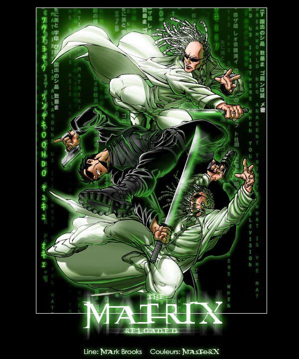 The Matrix Reloaded Fan Art Art Fan Art Matrix Reloaded