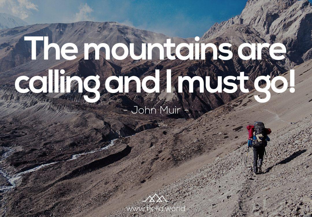 Aim High - Inspirierende Wandersprüche und Bergzitate ...