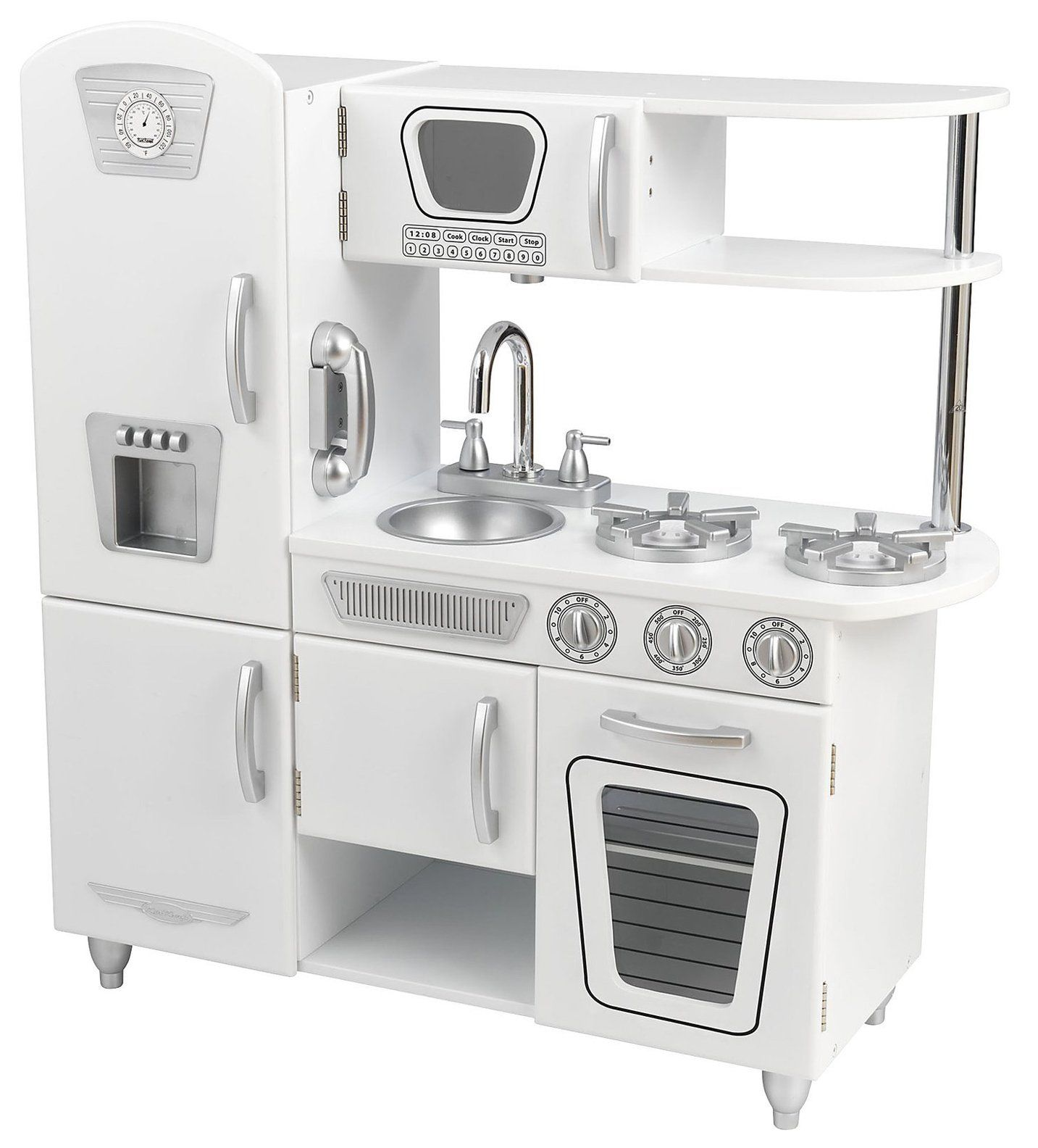 KidKraft Vintage Kitchen - White (but paint all of the silver parts ...