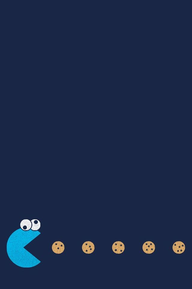 Cookie Monster Art Backgrounds Iphone Smart Phone Htc