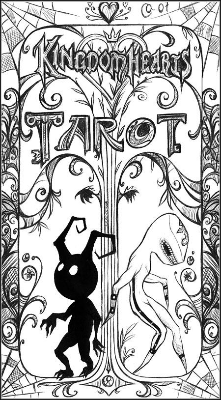 KH Tarot: back cover by Autumn-Sacura | Kingdom Hearts | Pinterest