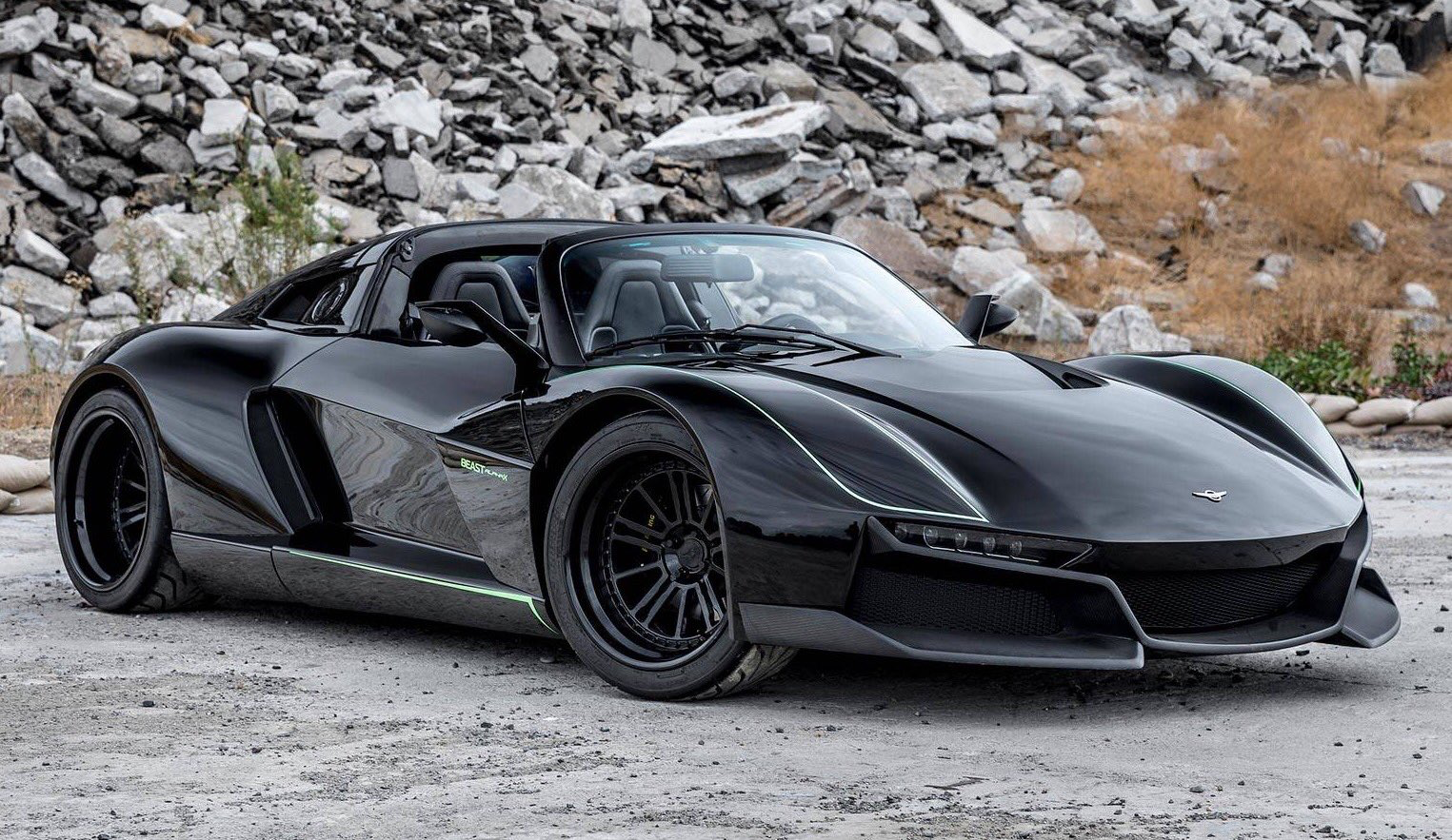 700hp Rezvani Beast Alpha X Blackbird Has Officially Landed 225k