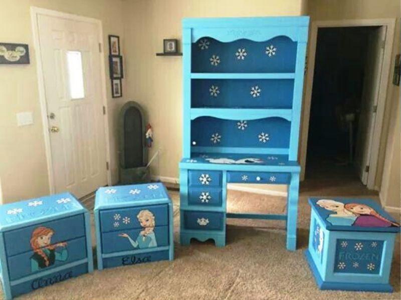 Frozen Bedroom Set Decoration Best, Frozen Bedroom Furniture