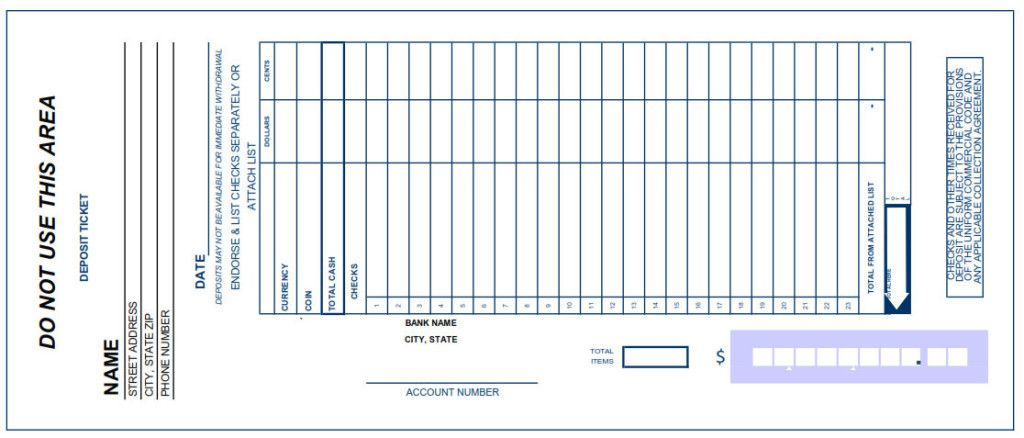 You Are Now Able To Store Your ClientS Receipts And Deposit Slip