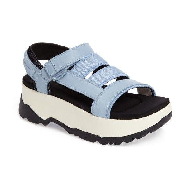 2c225e78b98 Women s Teva Zamora Flatform Sandal ( 135) ❤ liked on Polyvore featuring  shoes