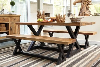 Picnic Table Dining Table   Possessing The Dining Table In Your Dining Room  May Pull Your Whole Ensemble Making Your Dinin