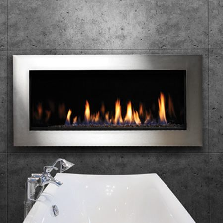 Kingsman Zrb46 Zero Clearance Direct Vent Linear Gas Fireplace Learnshopenjoy Living Room