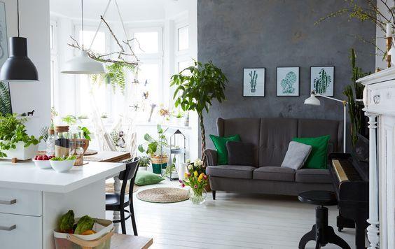 Soggiorno Oslo ~ Margo ha incorporato la cucina nel soggiorno ikea arredo