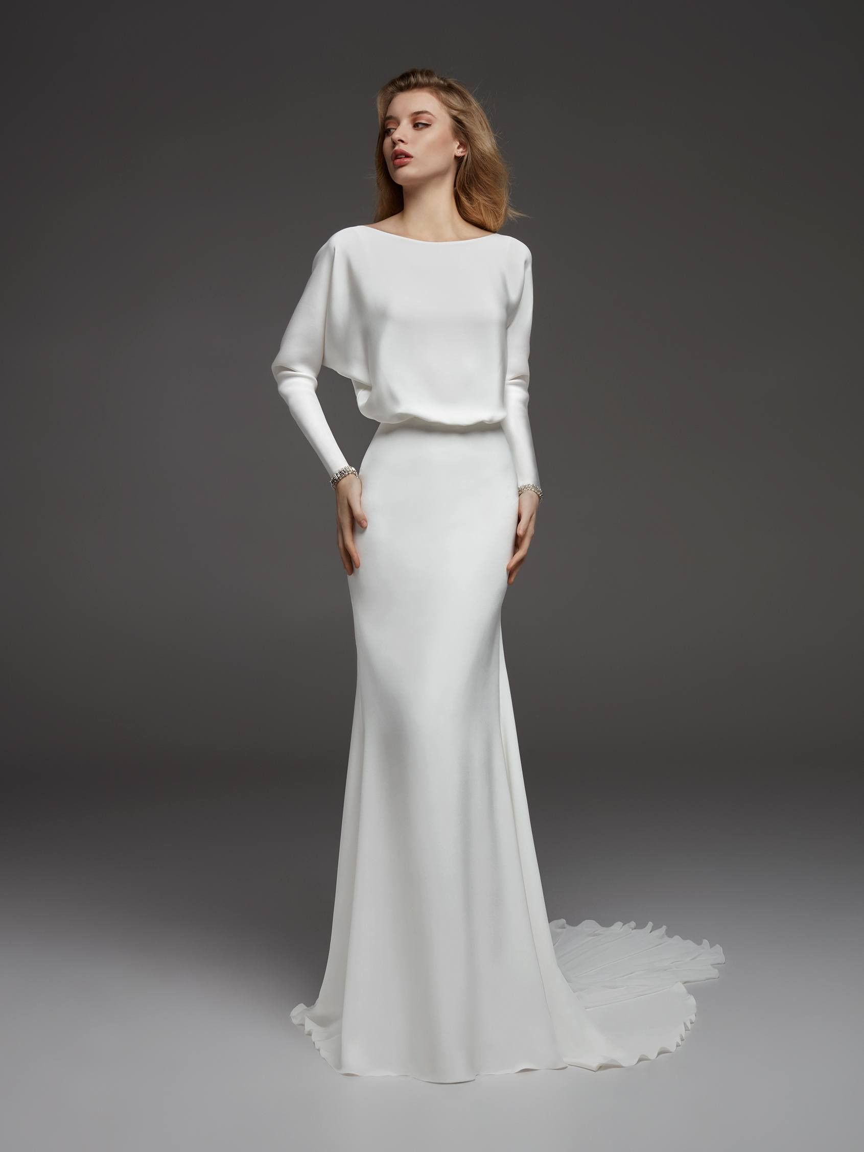 76d46139bc3 19 Wedding Dresses for the Minimalist Bride (WhoWhatWear.com ...