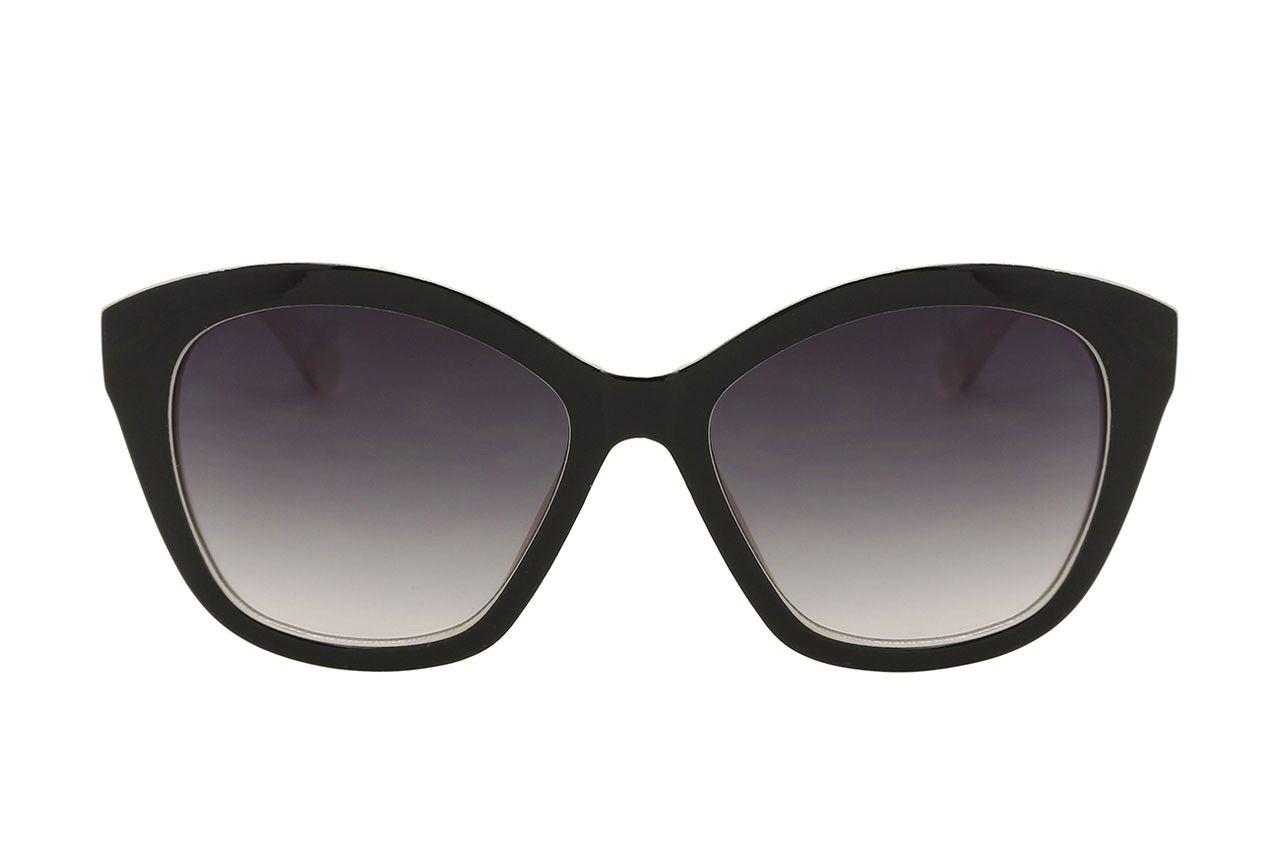 MadaboutSun Luanco XL Swan Blanco negro Gafas de sol big size con un ...