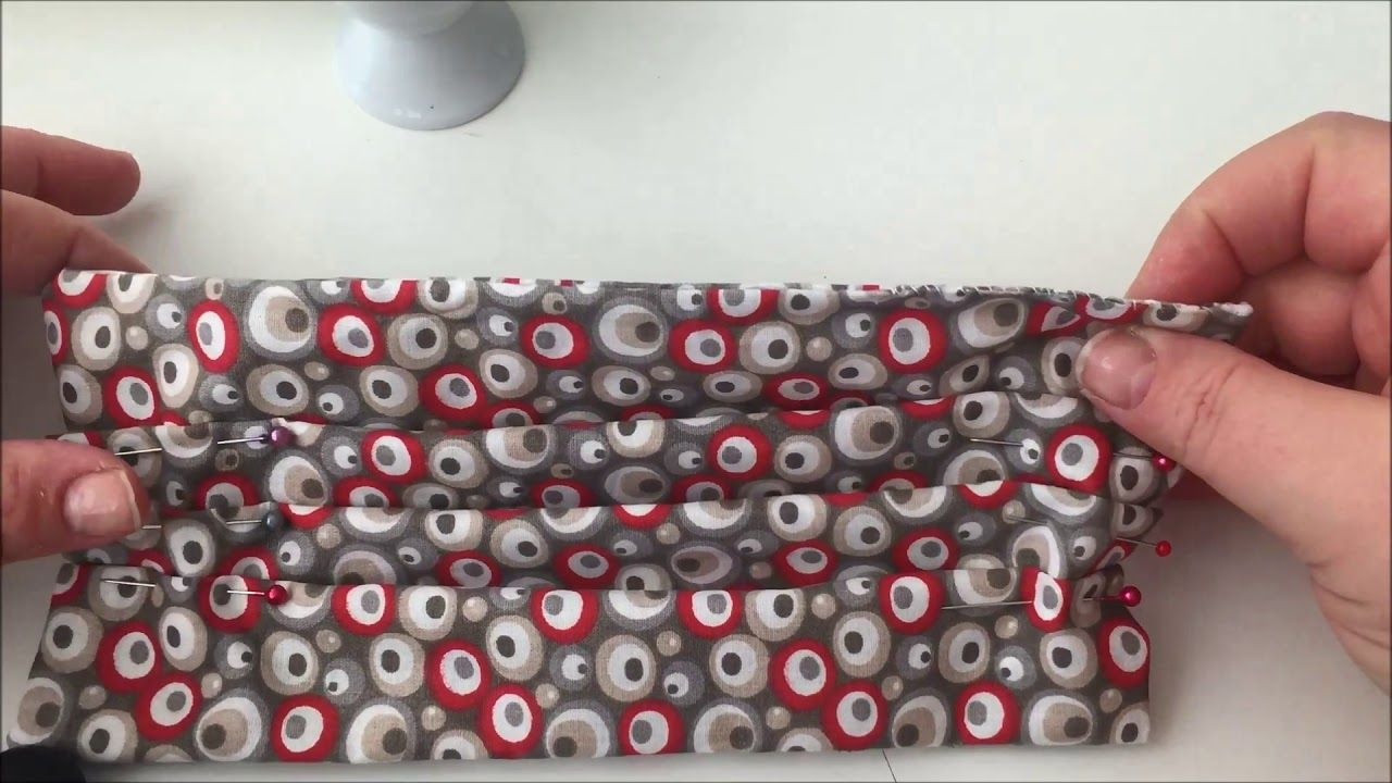 Einfachen Mundschutz OHNE Nähmaschine selber nähen