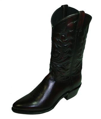 Black Men Cowboy Boots - Yu Boots