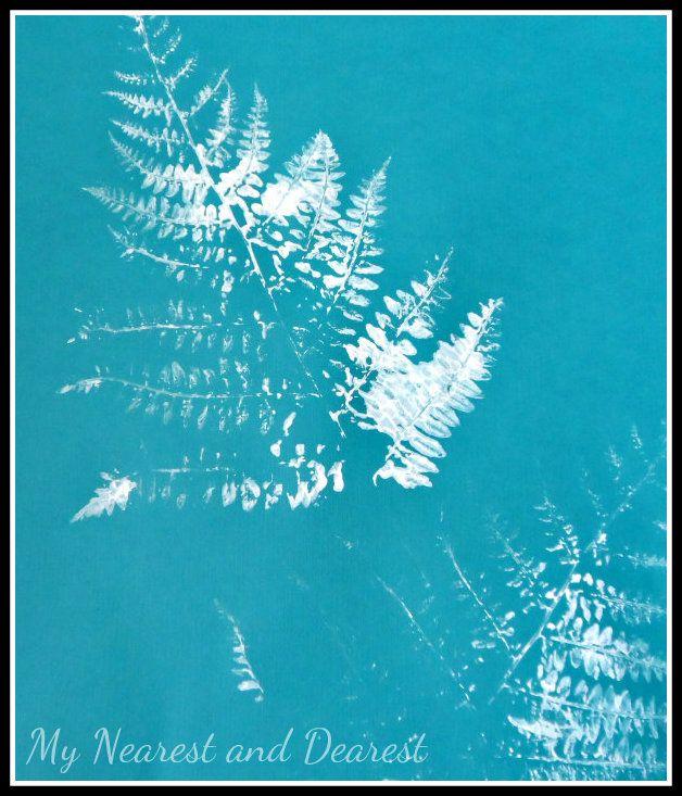 #4 fern print