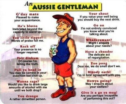 Learn To Speak Australian Australia Funny Funny Australian Aussie