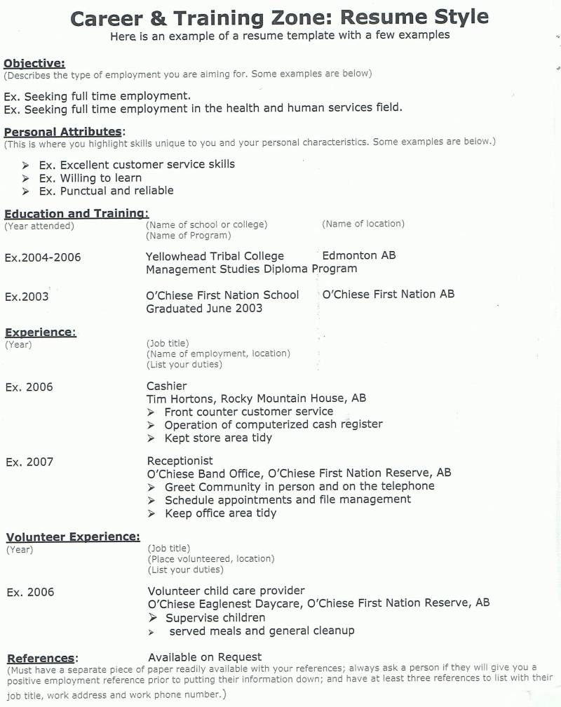 resume-example-8 | Resume Cv Design | Pinterest
