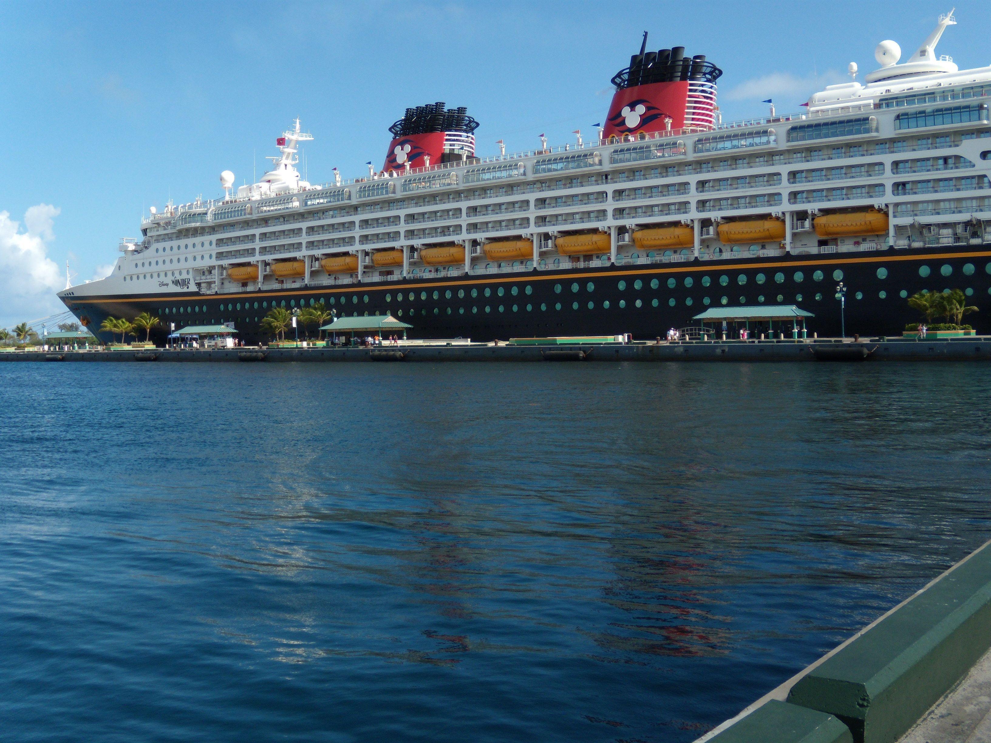 Sailed On The Inaugural Sailing Of The Disney Magic Cruise Ship - Disney magic cruise ship pictures