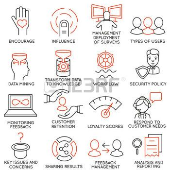 services icon vector set of 16 icons related to business