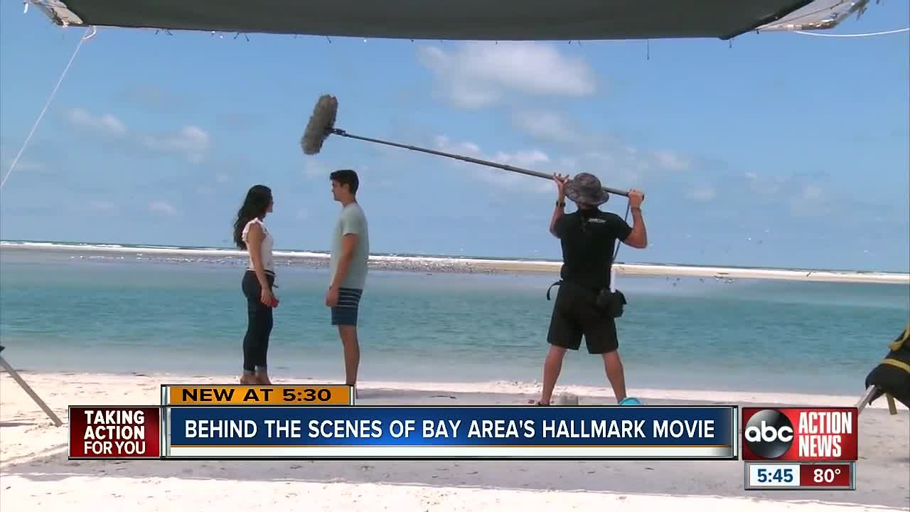 Camera Crews Making Their Way To Pinellas County On Hallmark S New Movie Love In The Sun New Movies Movies Pinellas County