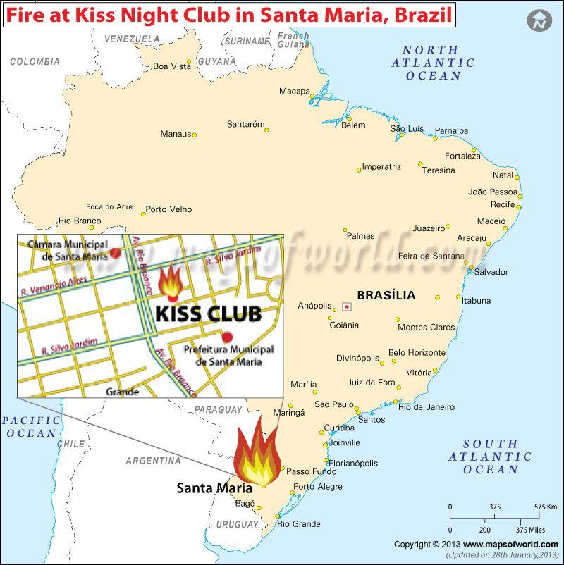 Kiss night club fire in santa maria brazil mow pinterest kiss night club fire in santa maria brazil gumiabroncs Choice Image