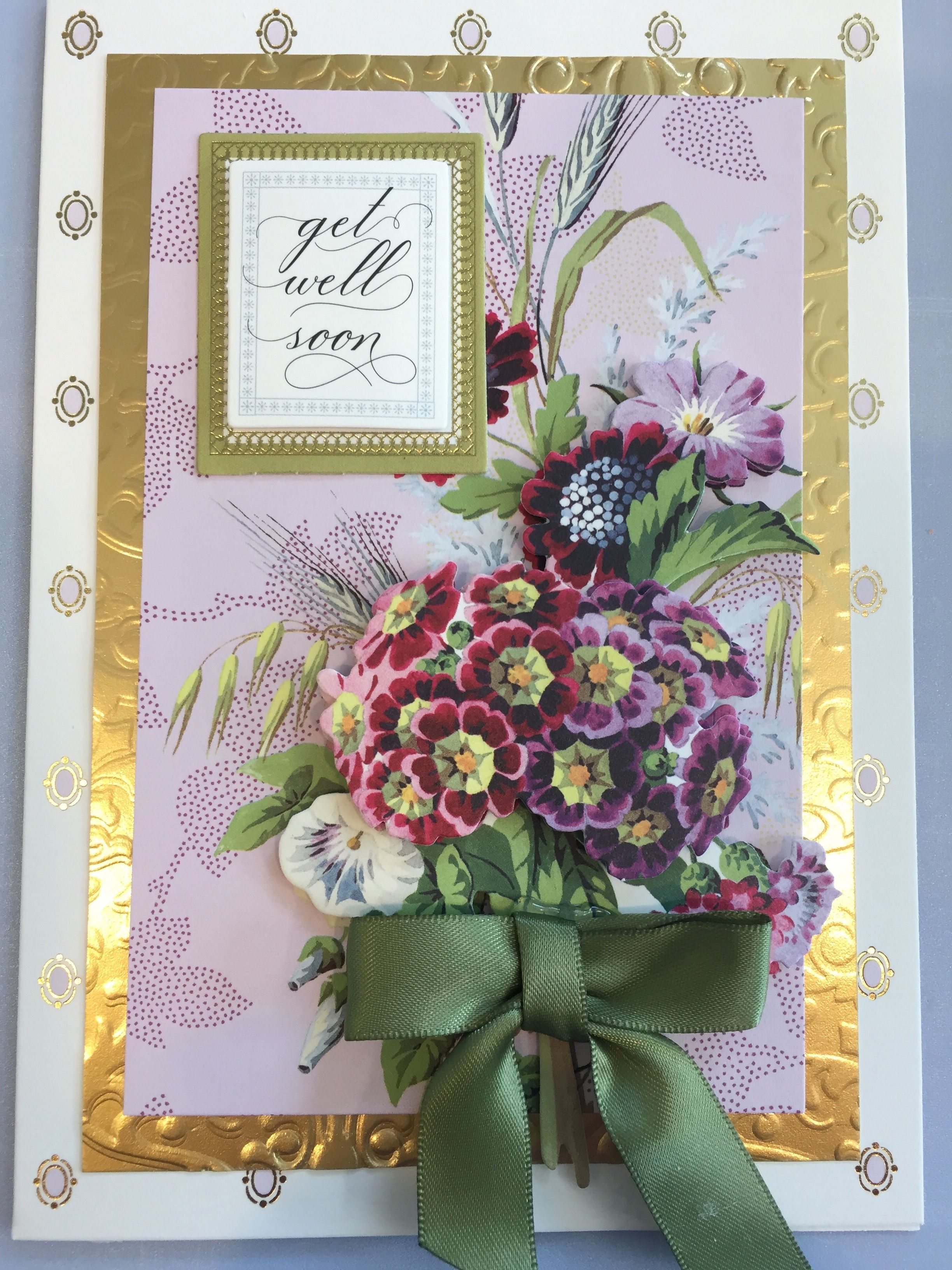 """anna griffin """"blooming decoupage card making kit""""  anna"""
