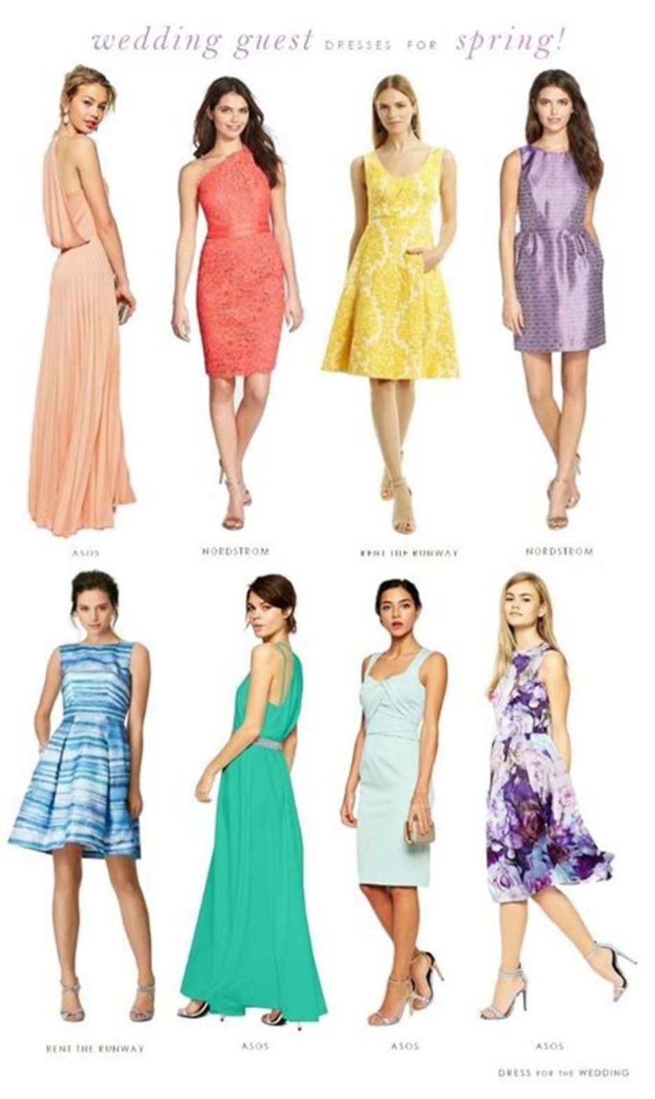 35 Cute Spring Wedding Guest Dresses Ideas Trueclothes Guest Attire Spring Wedding Guest Attire Wedding Attire Guest