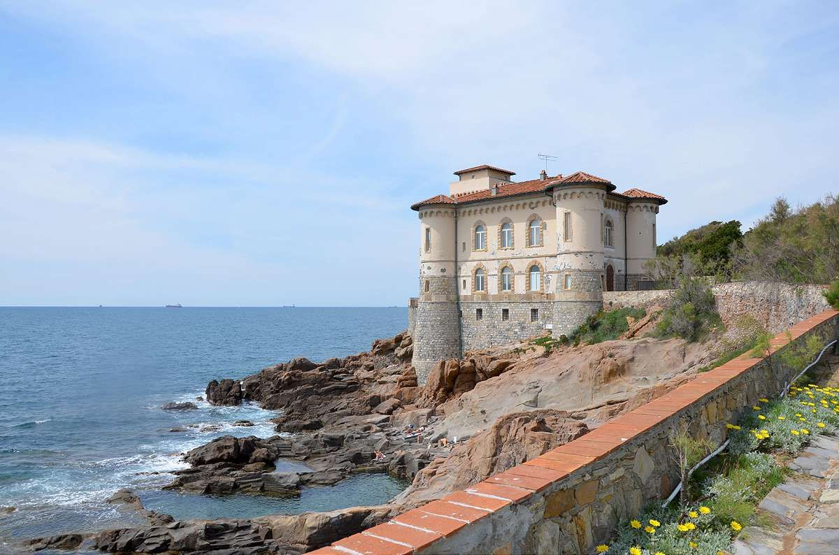 Tuscan Coast Apartment in Castle with Pool - V3858V-X ...