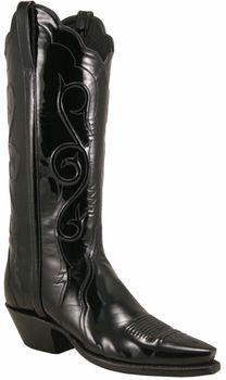 eb171abdf5d Ladies Lucchese Classics Black Patent Leather Custom Hand-Made ...