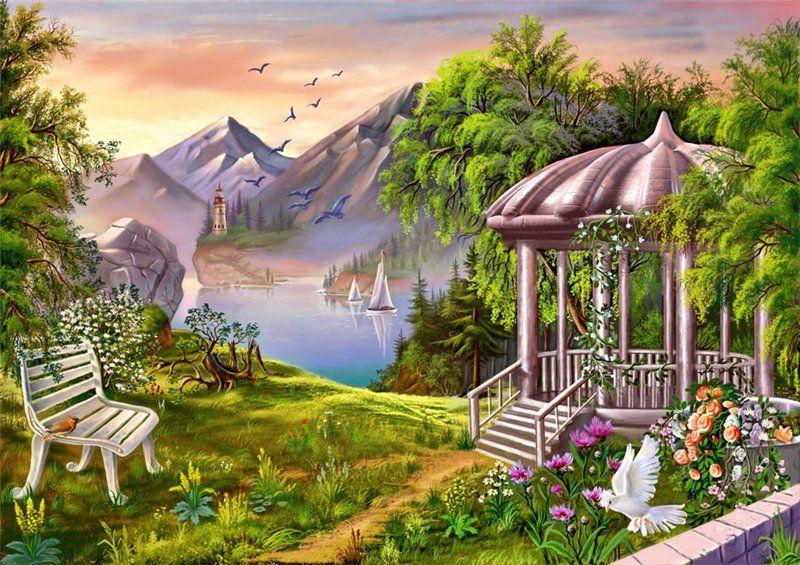восток рай картинки малогабаритных